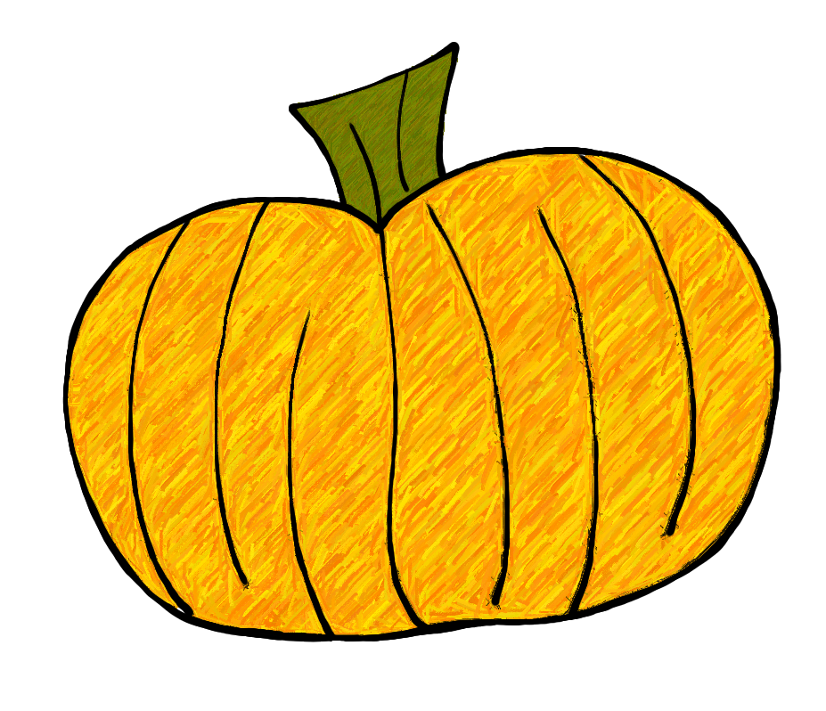 Pumpkin Stem Clipart Green Pumpkin Leaf Clipart