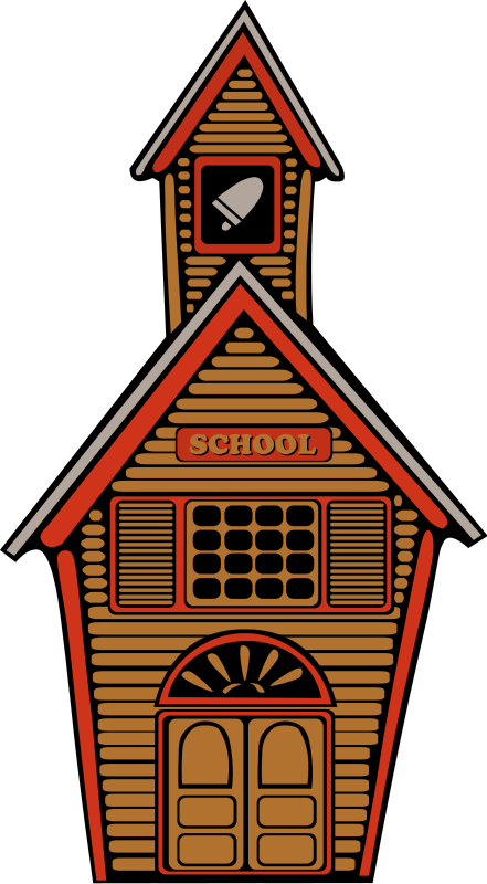 School Building Clip Art   Images   Free For Commercial Use