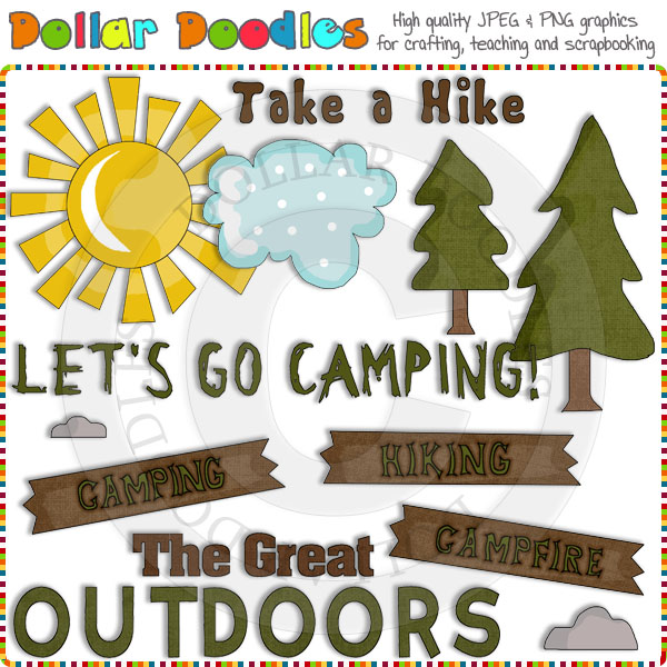 The Great Outdoors Clip Art Download     1 00   Dollar