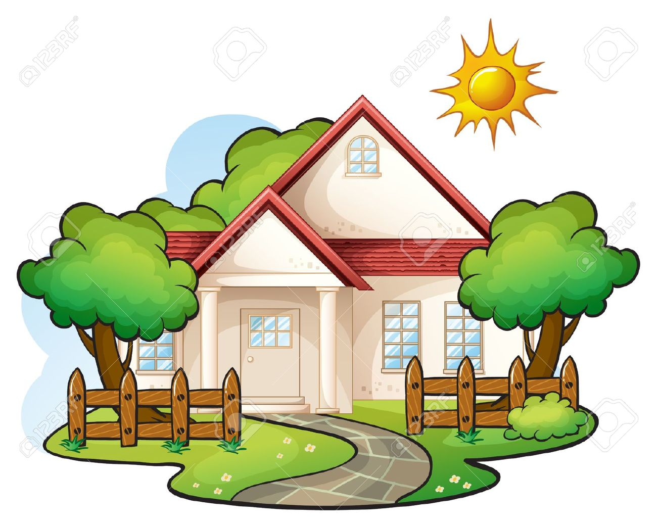 Top House Clipart Images  Kids Pedia