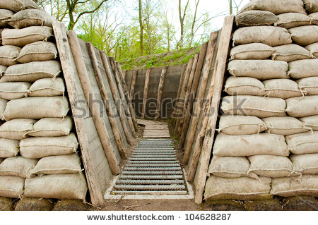 Trench Warfare Clipart War Trenches In Holland