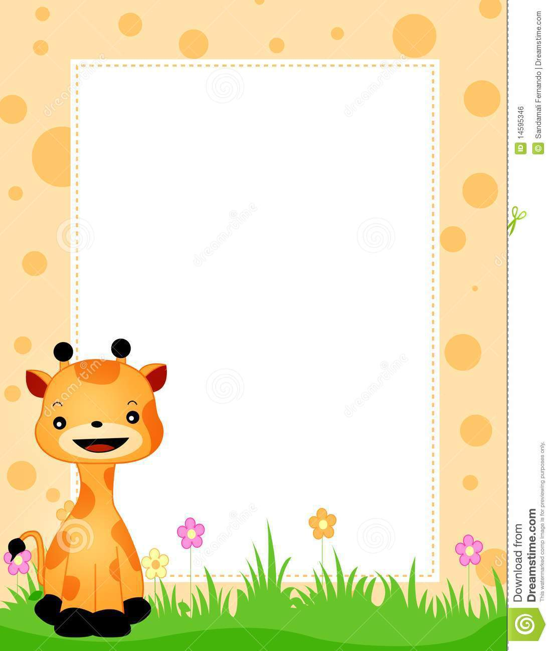 Baby Jungle Borders Clipart - Clipart Suggest