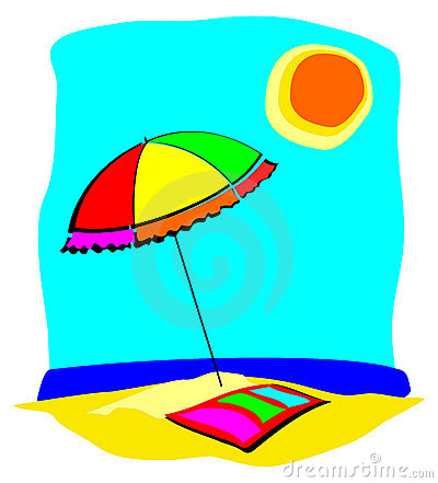 Beach Towel Clipart Clipart Suggest