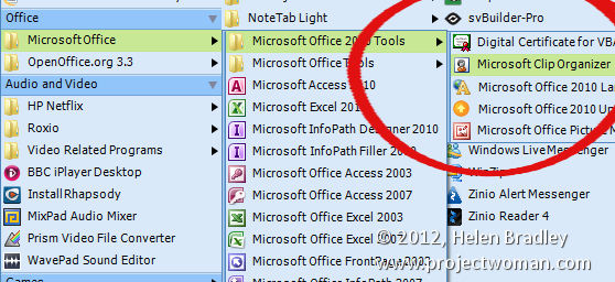Ms Office Organizer Clipart - Clipart Suggest