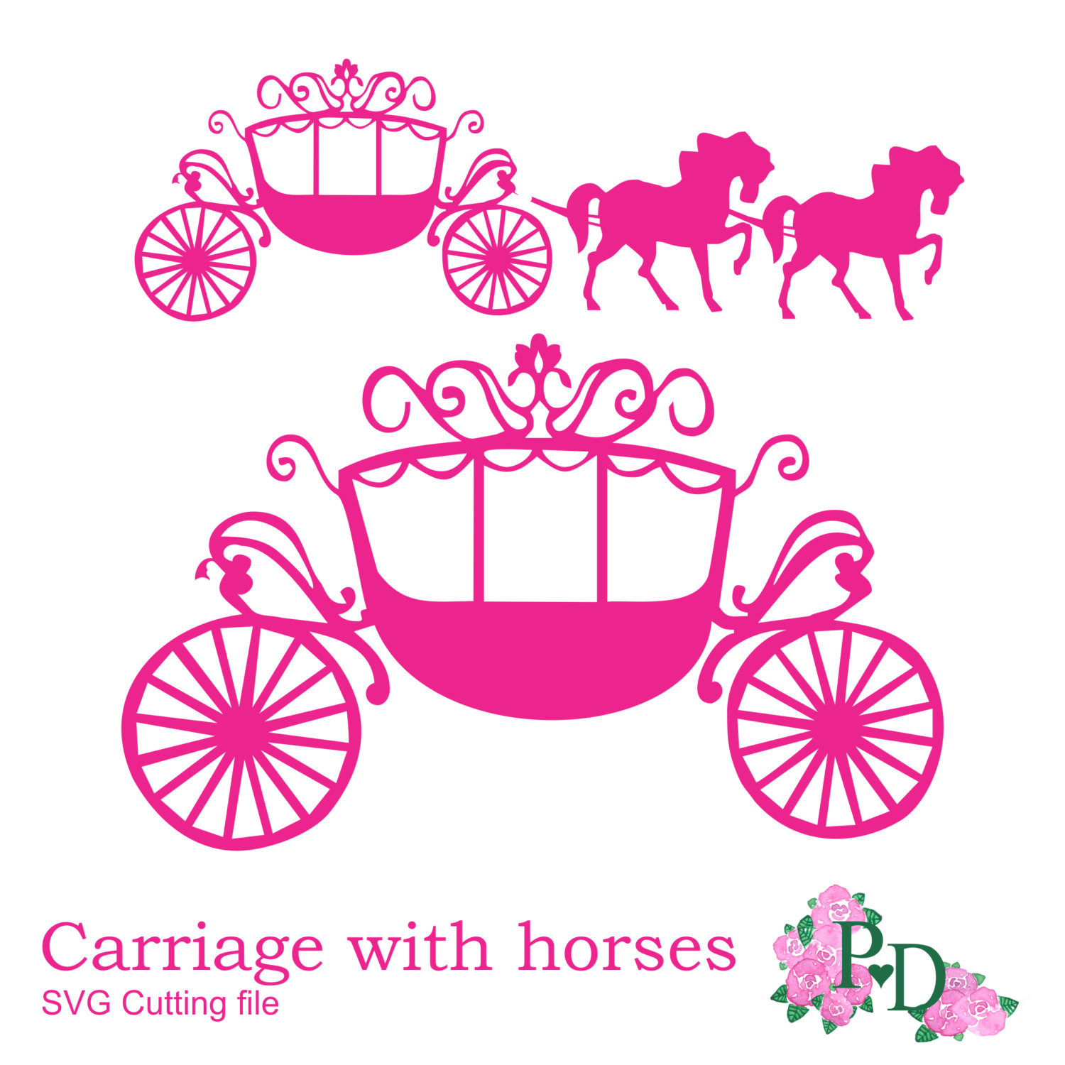 Digital Download Discoveries For Princess Carriage From Easypeach Com