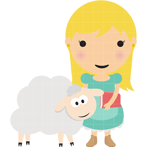 Mary Had A Little Lamb Clipart - Clipart Suggest
