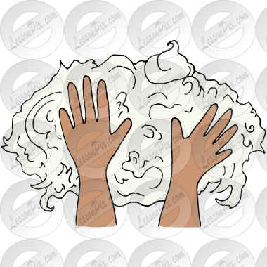 Picture For Classroom   Therapy Use   Great Shaving Cream Clipart