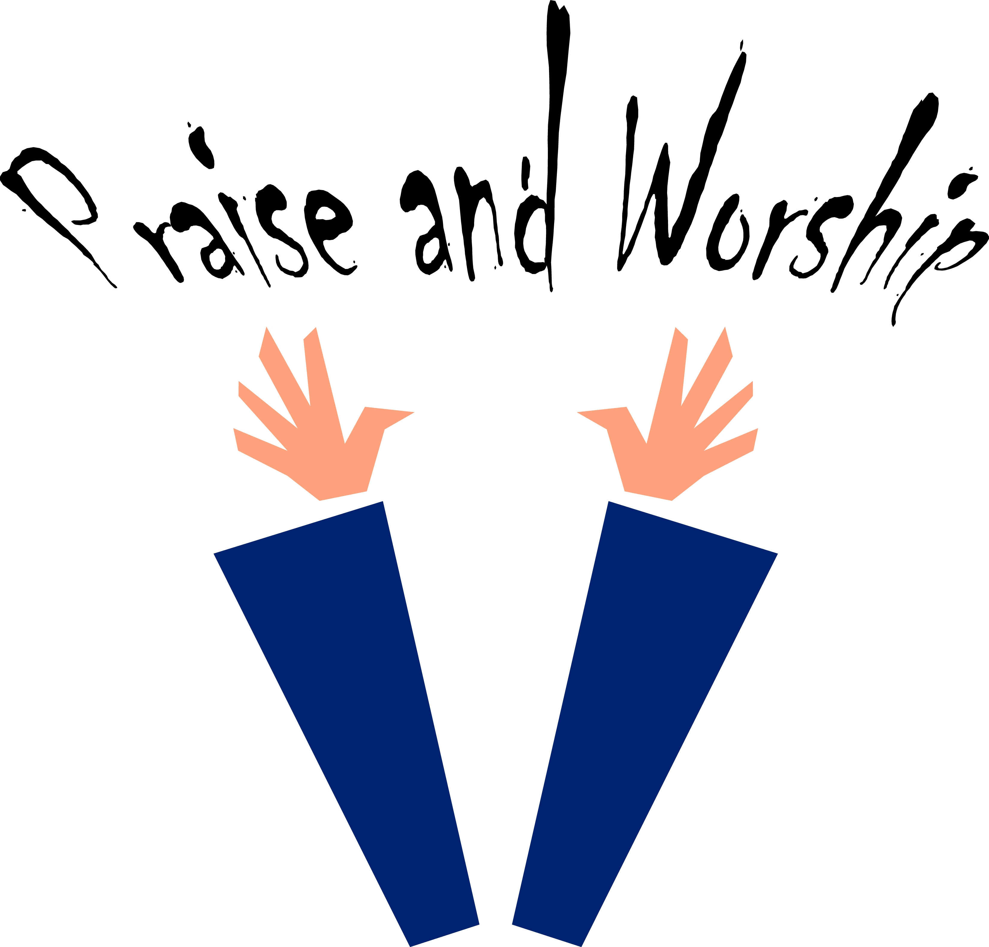 Praise and Worship Clip Art Free