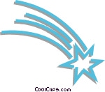 Blue Star Shooting Star Clipart - Clipart Suggest