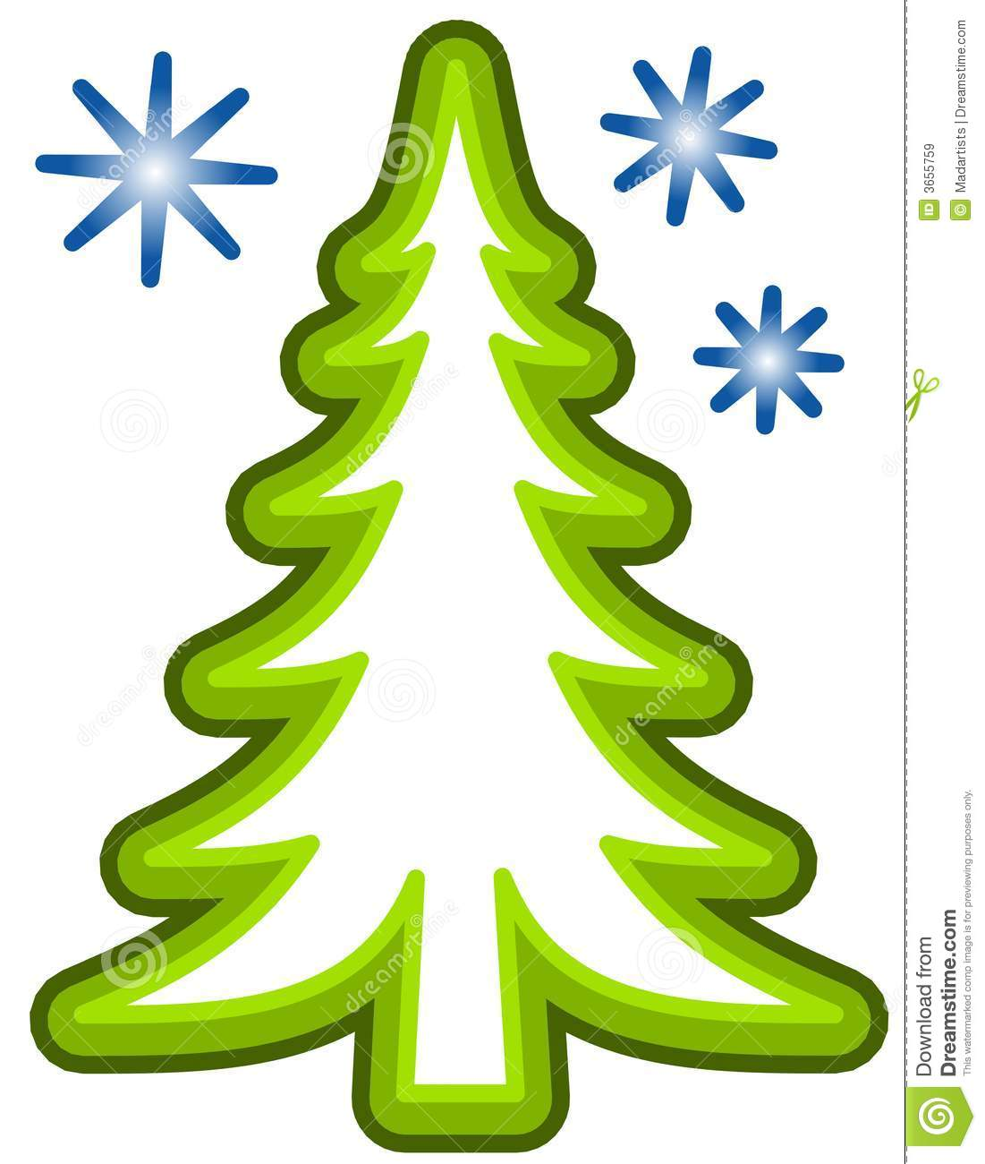 Chirstmas Tree Clipart - Clipart Kid