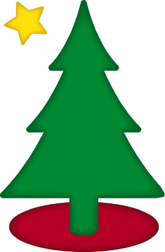 Christmas Tree Star Clipart - Clipart Kid