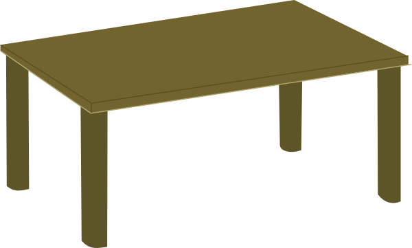 Dining Table  Clipart Dining Table Chairs