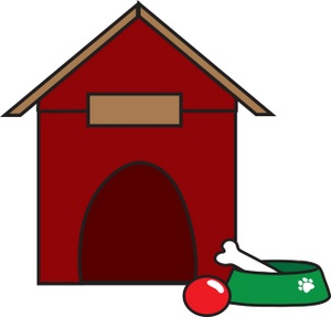 Dog House Clip Art Images Dog House Stock Photos   Clipart Dog House