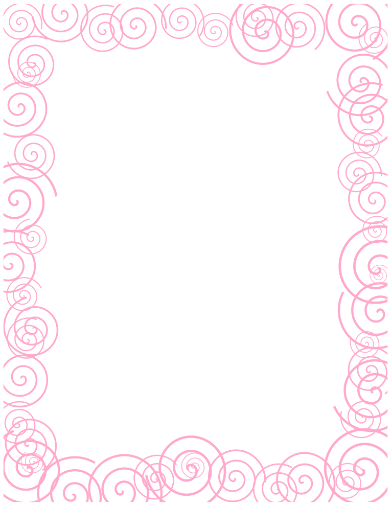 Free Borders And Clip Art   Downloadable Free Spiral Borders