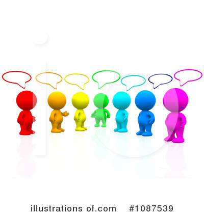 Free  Rf  Social Networking Clipart Illustration  1087539 By Andresr