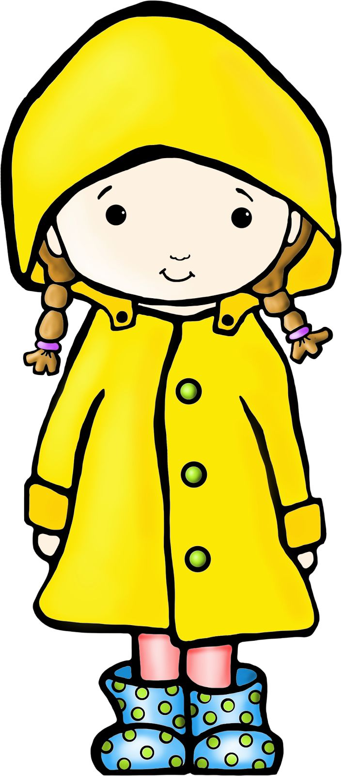How To Draw A Raincoat   Google Search   Children S Inspirational