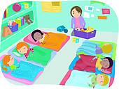 preschool nap time clipart clipart suggest