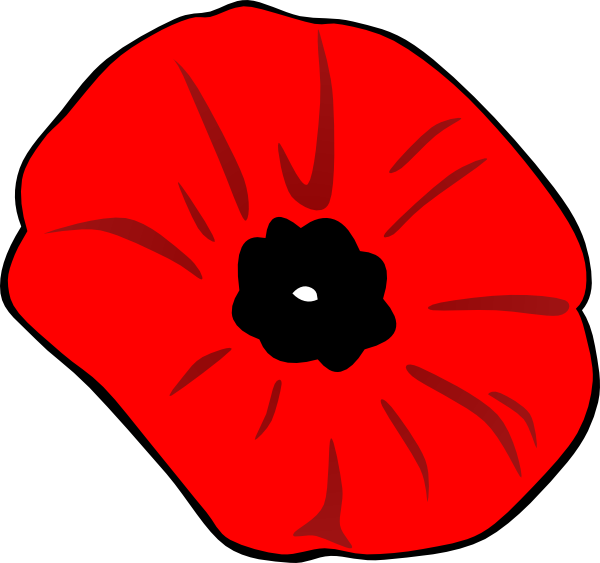 Poppy Remembrance Day Clip Art At Clker Com   Vector Clip Art Online