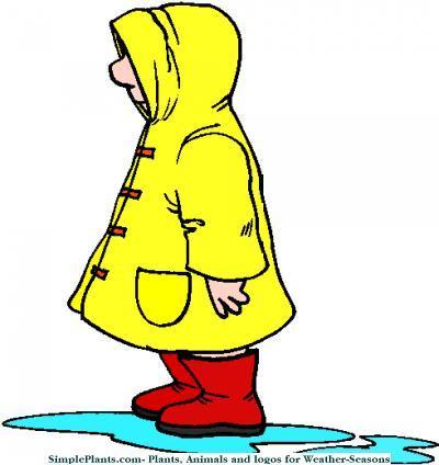 Rain Coat Clip Art Raincoat Clipart - Cli...