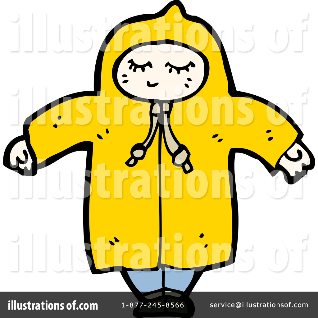 Raincoat Clipart  1185431 By Lineartestpilot   Royalty Free  Rf  Stock