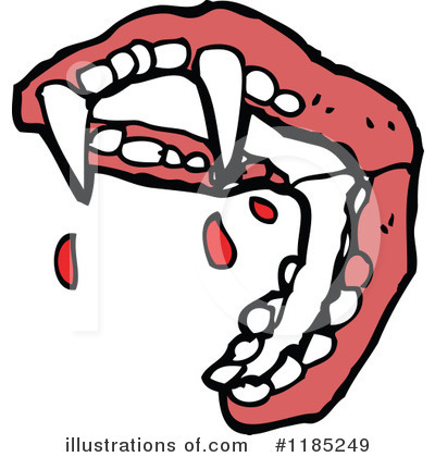 Vampire Fangs Clipart  Rf  Vampire Teeth Clipart