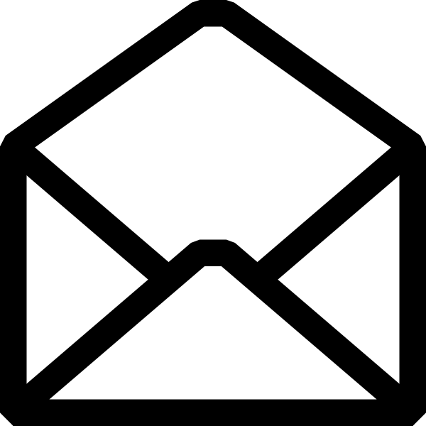 White Email Icon Png