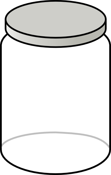 Clip Art Clear Jar Clipart Clipart Suggest