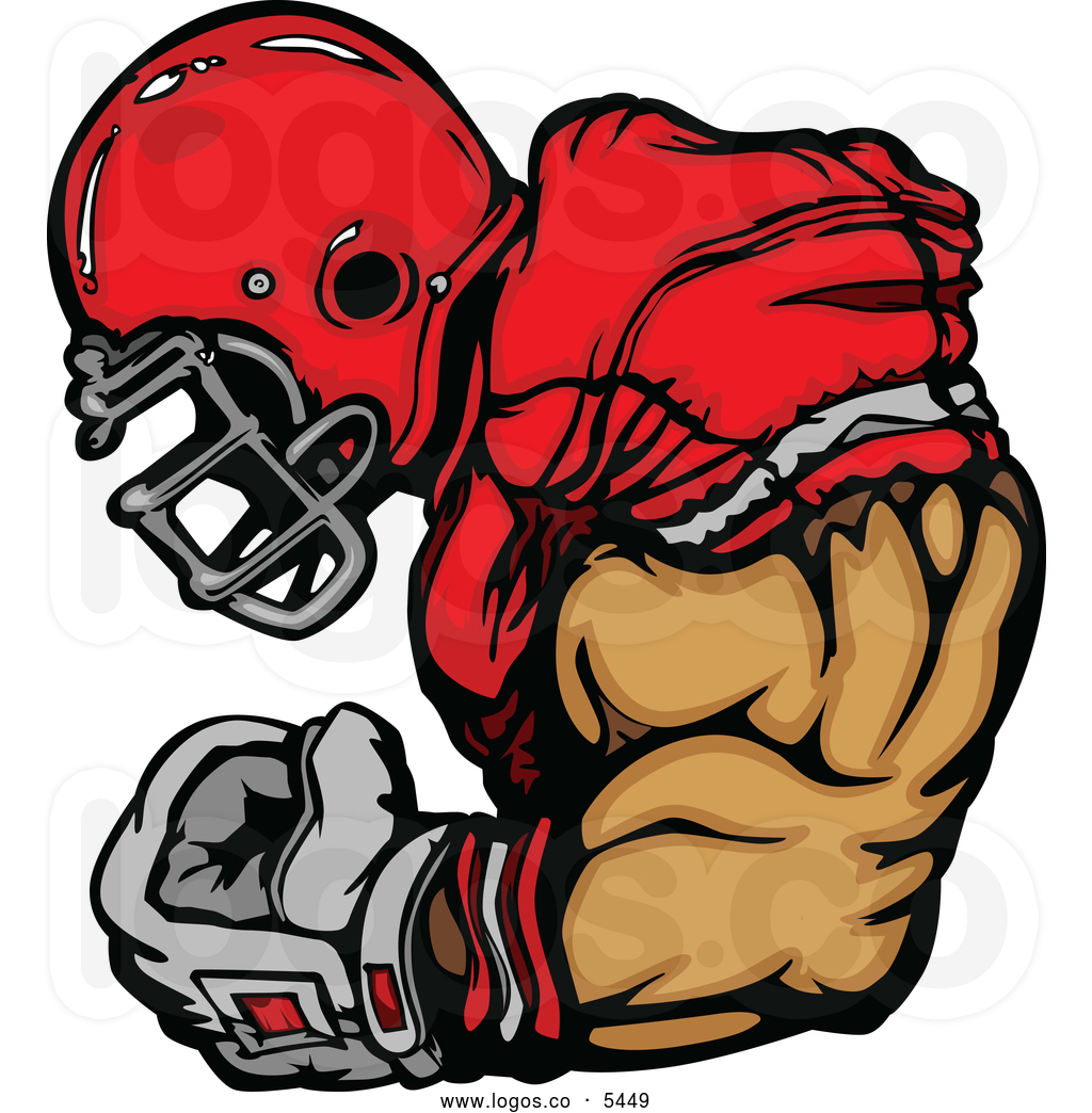 Clip Art Football Royalty Free Stock Logo Designs Of Athletes Image