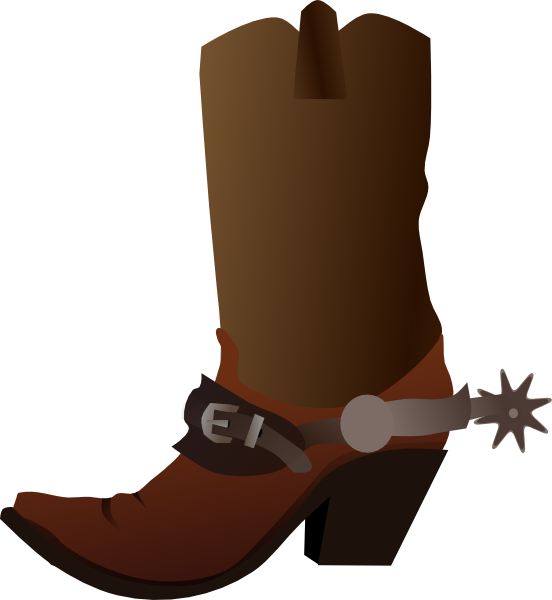 Cowboy Boot Clip Art At Clker Com   Vector Clip Art Online Royalty
