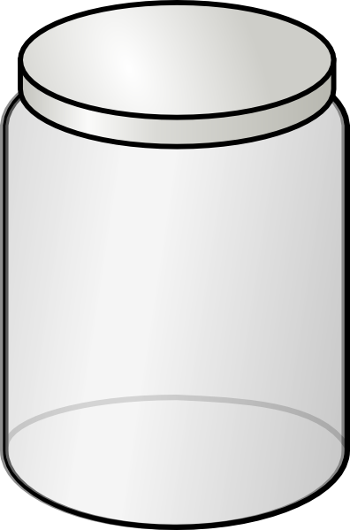 Glass Jar Clip Art At Clker Com   Vector Clip Art Online Royalty Free
