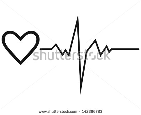 Heart Beat Line Stock Photos Images   Pictures   Shutterstock