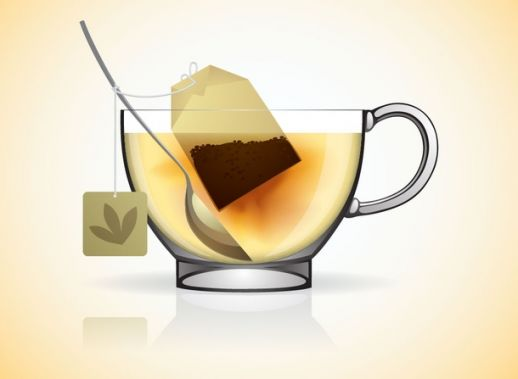 Hot Tea Cup Vector   Ai Pdf   Free Graphics Download