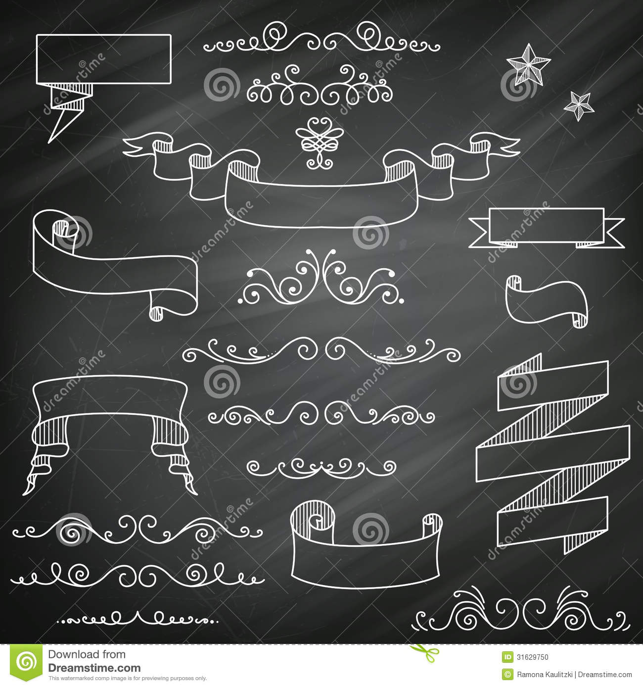 Vintage Chalkboard Clipart Clipart Kid