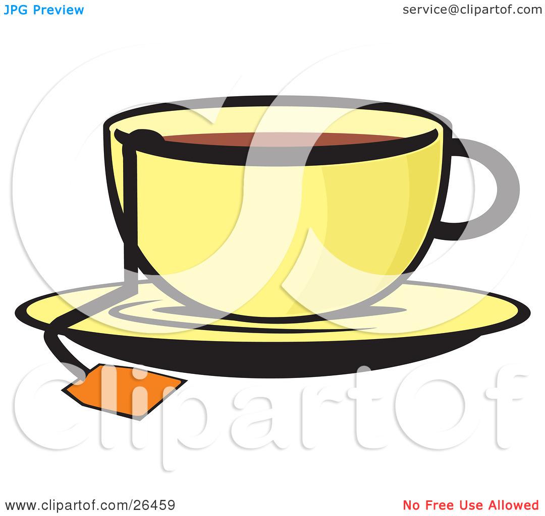 Character Characters Food Foods Cartoon Beverage Beverages ... |Hot Tea Art