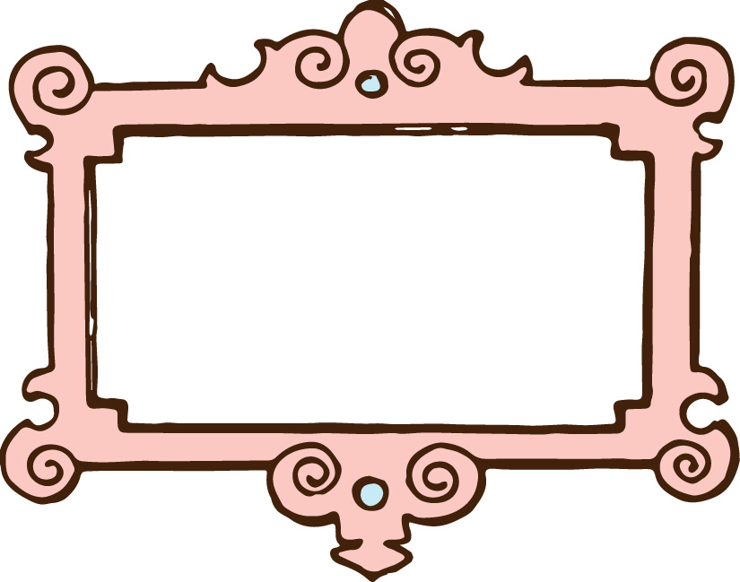 Pink Oval Frame Clipart   Clipart Panda   Free Clipart Images