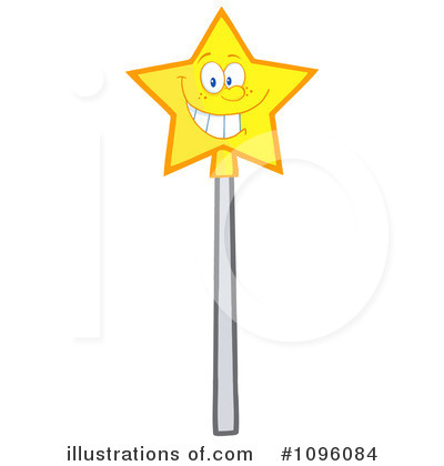 Royalty Free  Rf  Magic Wand Clipart Illustration By Hit Toon   Stock