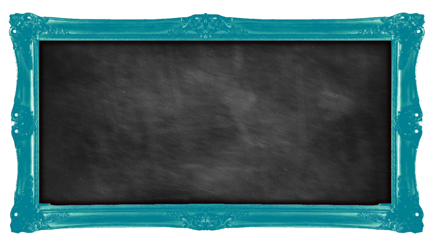 Vintage Chalkboard Clipart - Clipart Kid