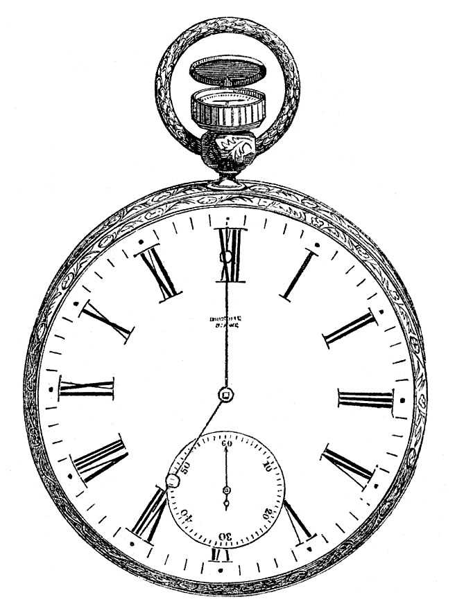 Pocket Watch Clipart - Clipart Kid