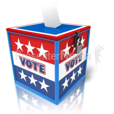 Ballot Box Voting   Signs And Symbols   Great Clipart For