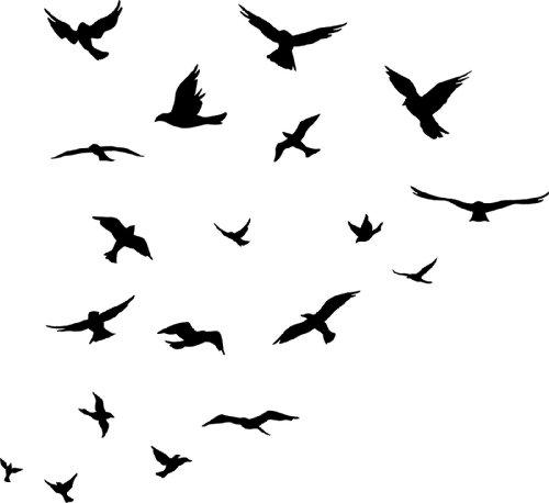 Bird Silhouette Clipart - Clipart Kid