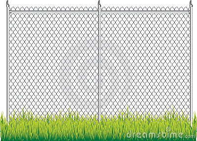 Chain Link Fence Stock Photo   Image  8915350
