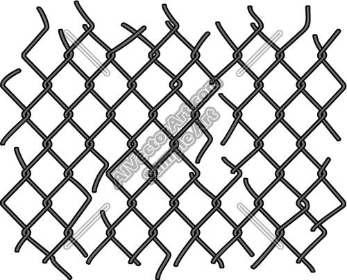 Chain Links Clip Art Clip Art Chain Link Fence