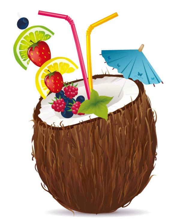 Coconut Drink Graphic   Free Cliparts That You Can Download To You