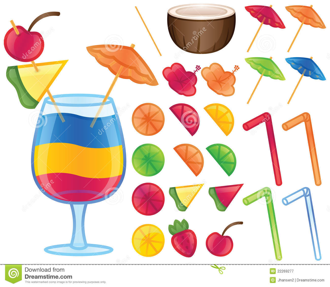 Displaying 17  Images For   Umbrella Drink Clip Art