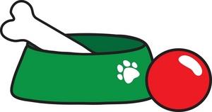 Clip Art Pet Food Bowls Clipart - Clipart Kid