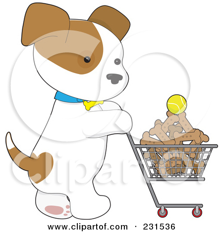 Dog Clipart Image Pet Products Dog Bowl Dog Bone And Ball Wallpaper