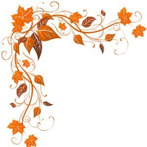 Fall Leaves Corner Clipart - Clipart Kid