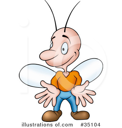 Flies Clipart  35104 By Dero   Royalty Free  Rf  Stock Illustrations