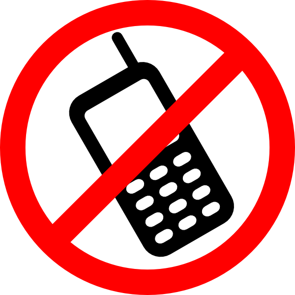 No Cell Phones Allowed Clip Art At Clker Com   Vector Clip Art Online