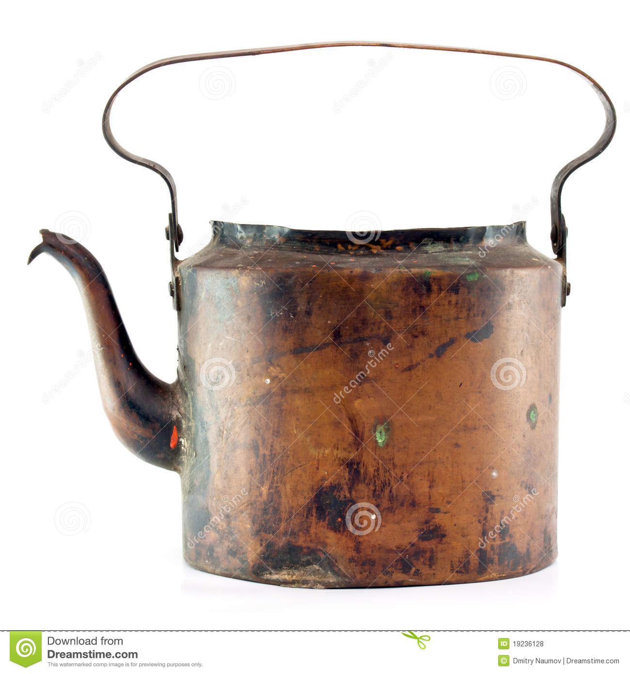 Old Copper Kettle Royalty Free Stock Photos   Image  19236128